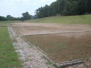 The track at Olympia