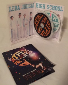 DVD and insert of the first Haikyu!! musical